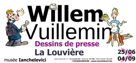 WILLEM et Philippe VUILLEMIN. Dessins de presse